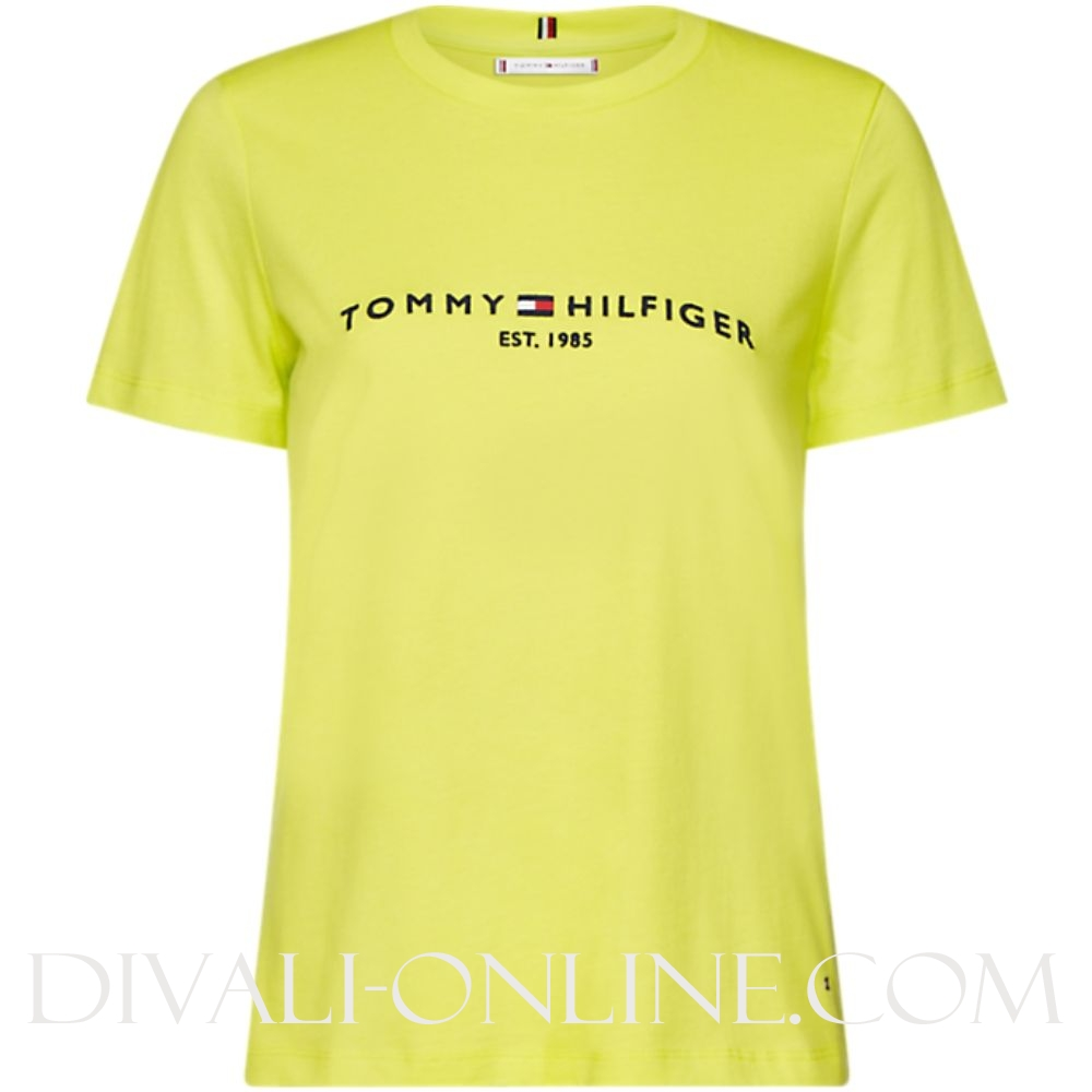 T-shirt Logo Hyper Yellow