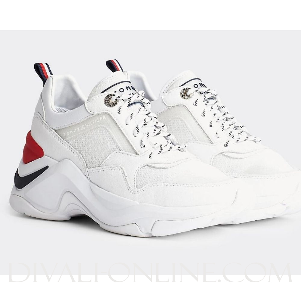 Runner Sneaker White