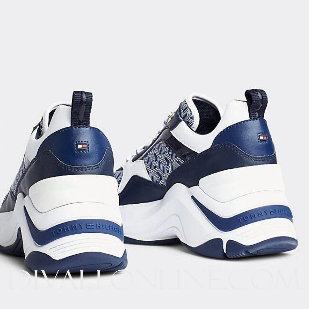 Runner Sneaker Blue Ink