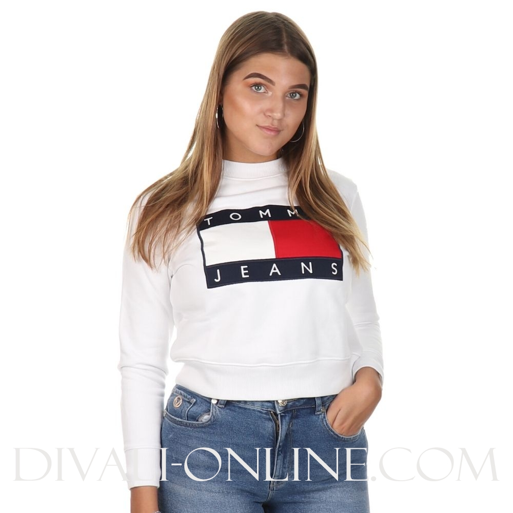 Sweater Flag White