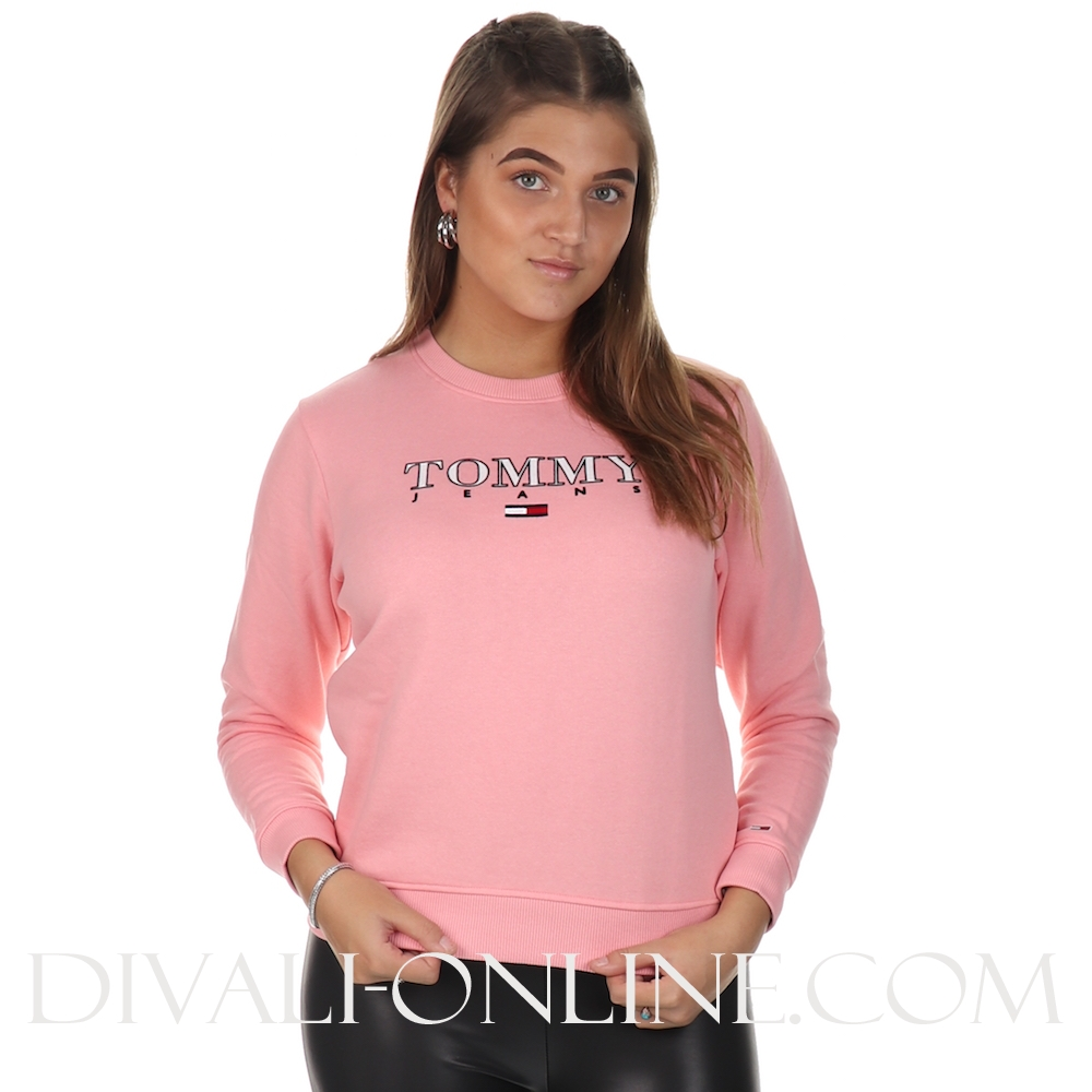 Sweater Essential Logo  Pink Icing