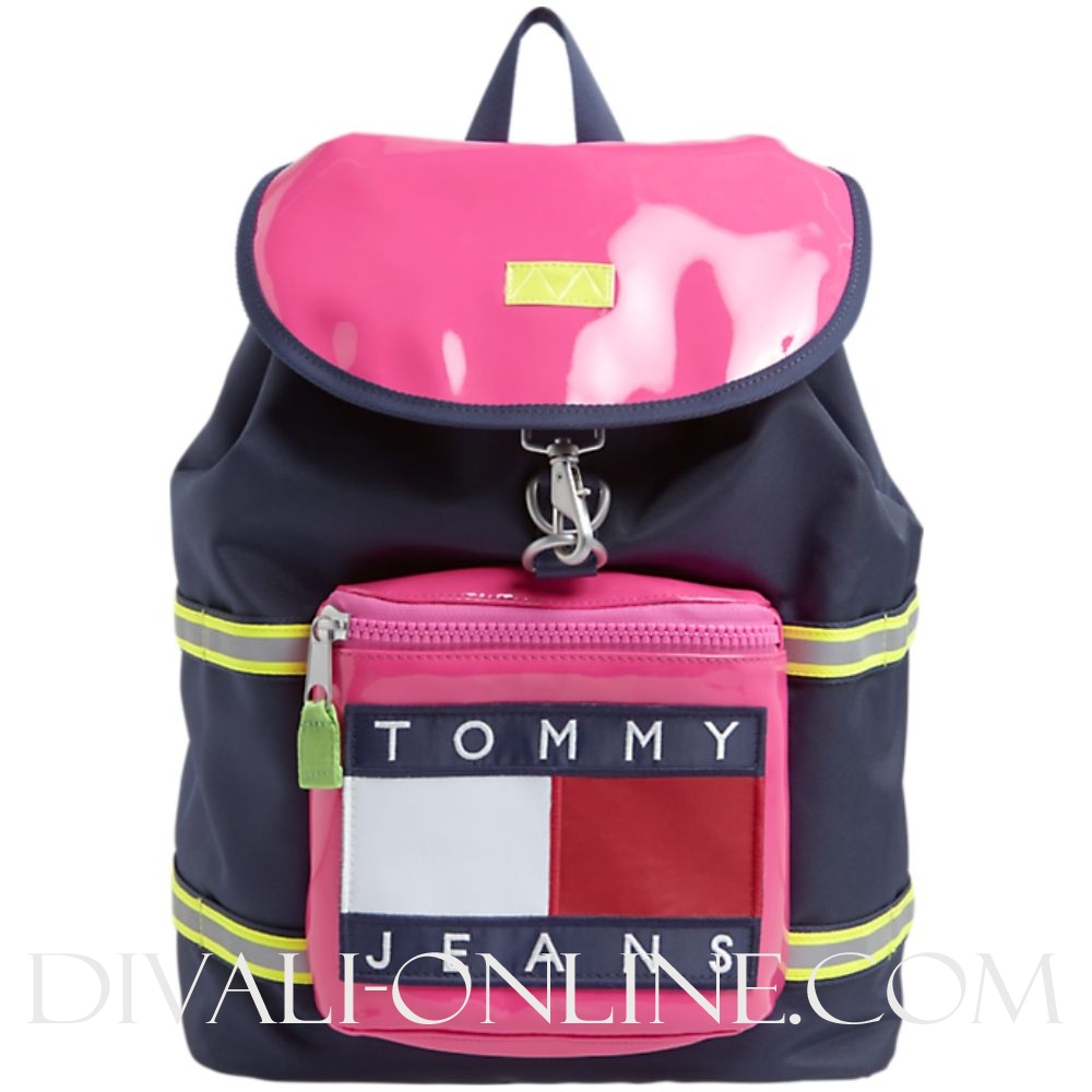 Backpack Pink Glo / Black Iris