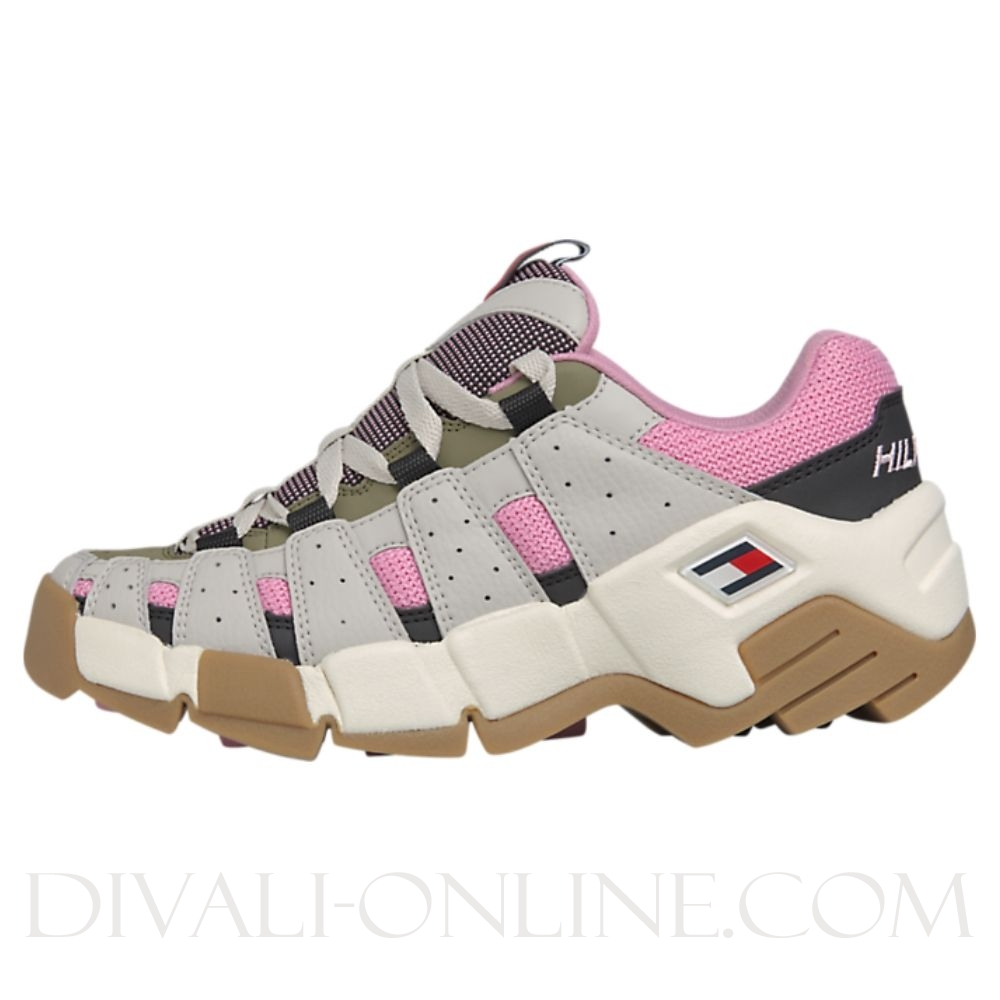 Runner Sneaker Pumice Stone/sea Pink/martini Olive