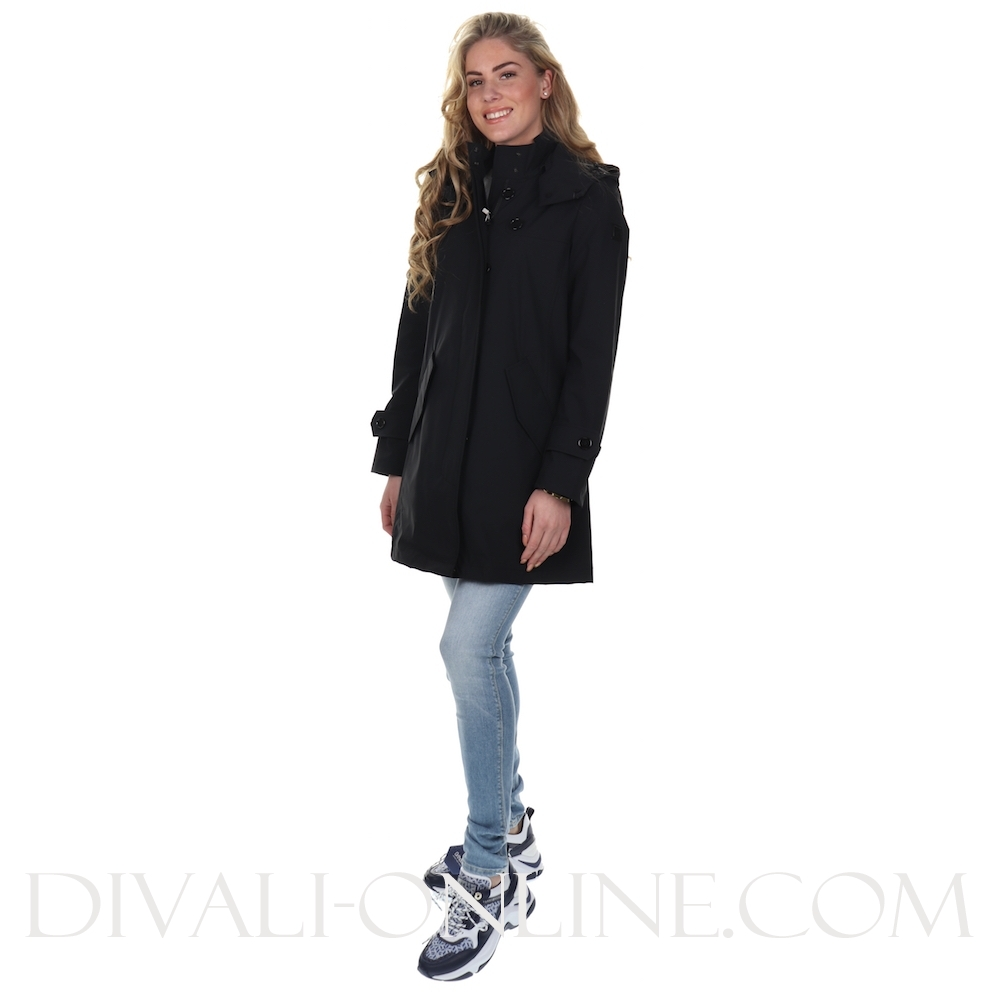 Ws Belted Fayette Coat / Black