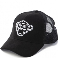 KIDS Suede trucker cap Black One size