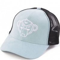 KIDS Suede trucker cap Pastel Blue One size