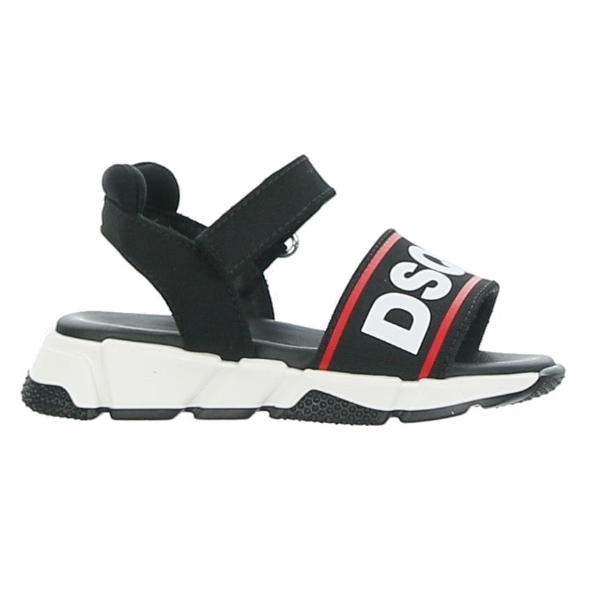 Straps Sandal Black/red/white Logo