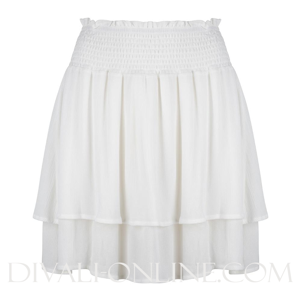 Skirt Ruffle White