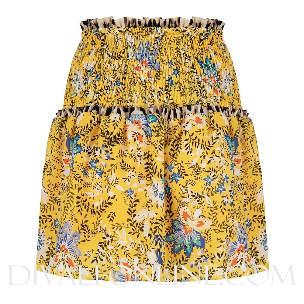 Skirt Flower Print