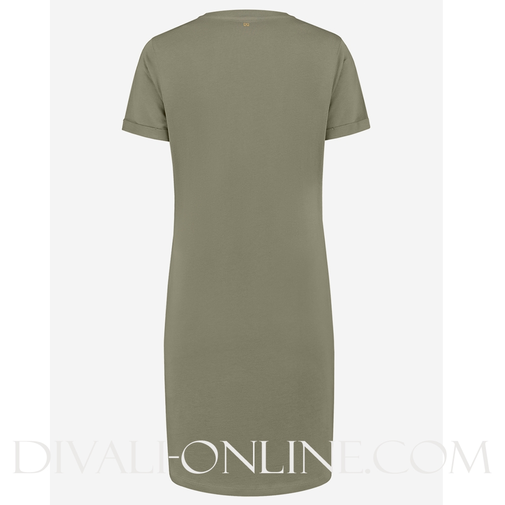 Nikkie Oversized Dress Soft Olive