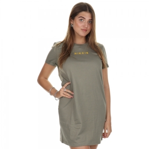 Nikkie Oversized Dress Soft Olive