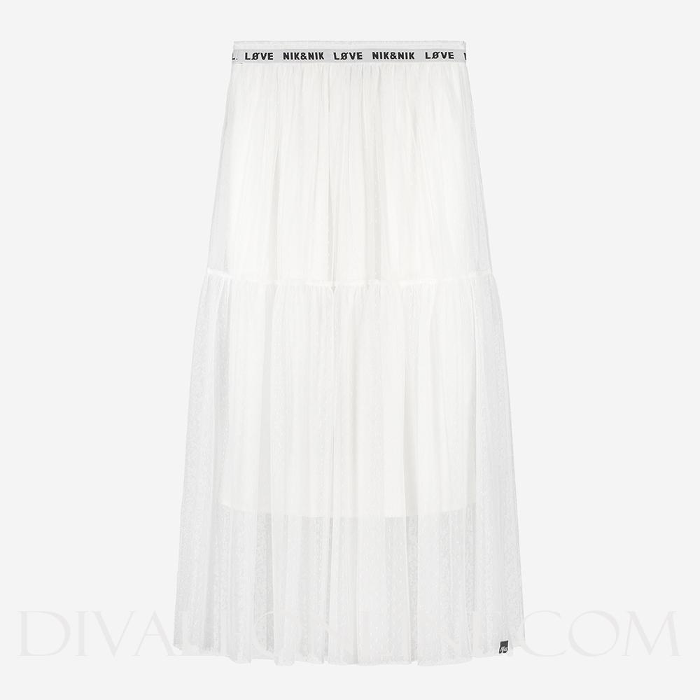 Corinna Skirt Off White