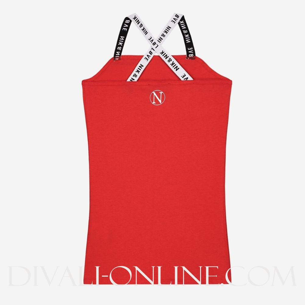 Nik & Nik Kim N Sweater Poppy Red €27.48