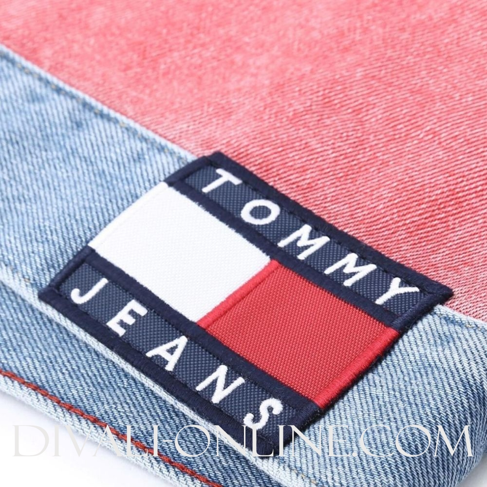 Jackets Tommy Flag Lt Bl Rig