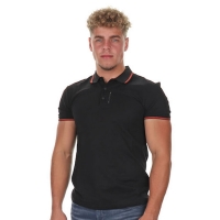 Antony Morato Polo Orange Line Black