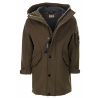 C.P. Company Outerwear - Long Jacket Ivy Green