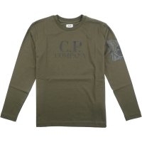 C.P. Company T-shirts - Long Sleeve Ivy Green