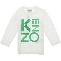 Kenzo Tee Shirt Sport Line Tb Optic White