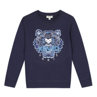 Kenzo Sweat Shirt Tiger Navy