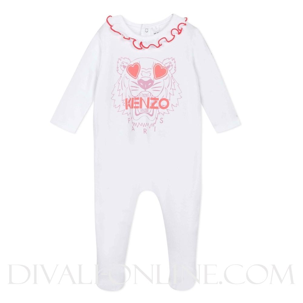 Playwear Tiger Optic White