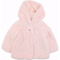 Mayoral Fur Coat                      Rose
