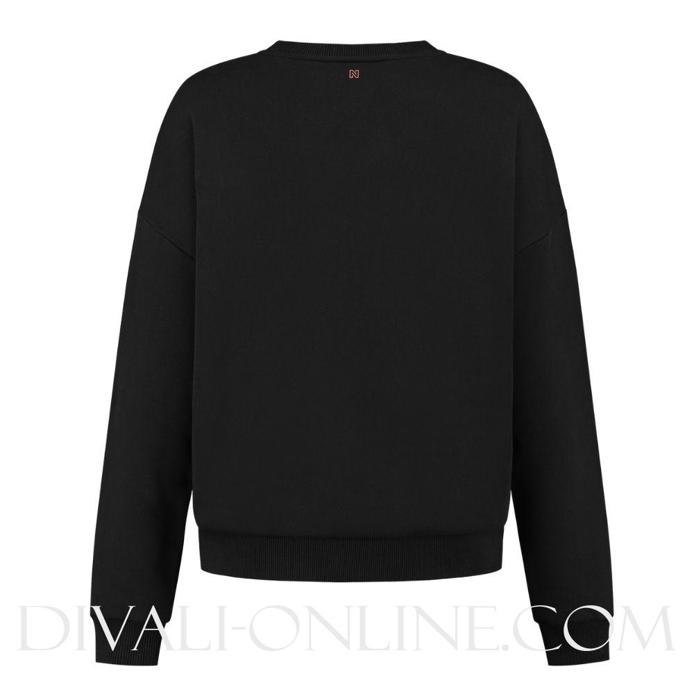 Nikkie By Nikkie Plessen Wolf Sweater Black €79.95