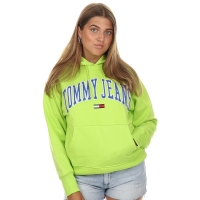 Tommy Jeans Tommy Clean Hoodie Lime