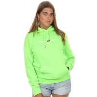 Tommy Jeans Tommy Neon Hoodie Green