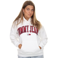 Tommy Jeans Tommy Clean Hoodie White