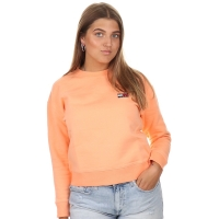 Tommy Jeans Tommy Badge Sweater Melon Orange