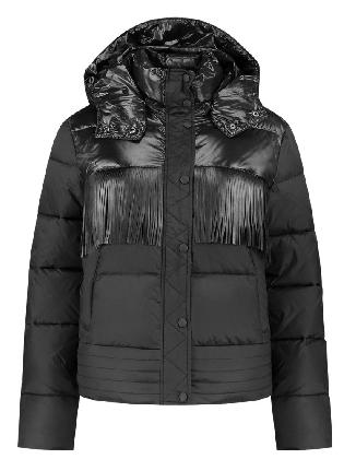 Alya Puffer Jacket Black
