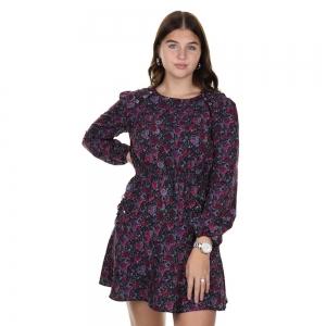 Savine Dress Radical Pink
