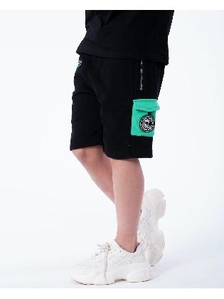Jr. Contrast Pocket Short