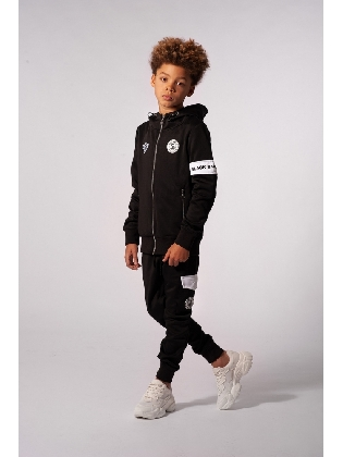 JR Captain Tracksuit Black