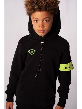 JR Captain Hoody Black