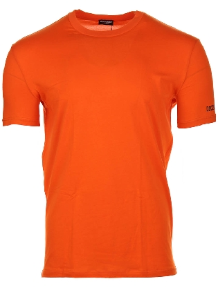 Round Neck T-shirt  Orange