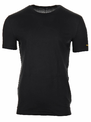 Round Neck T-shirt  Black