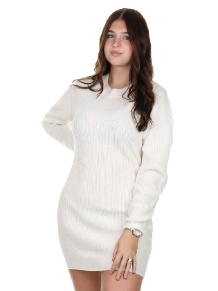 Krypt Dress Off White