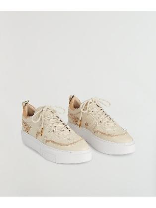 Sneaker Walker Cream