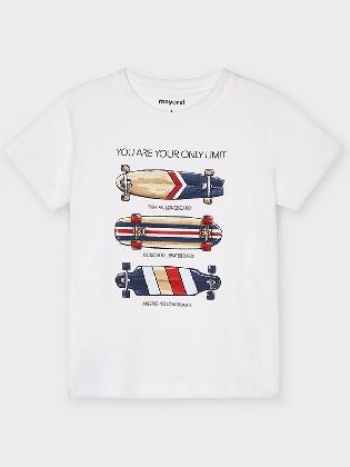 Skateboards S/s  T-shirt      White
