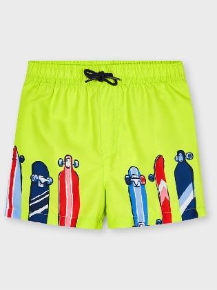 Bathing Suit Shorts           Green