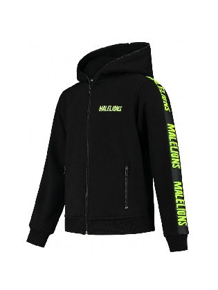 Vest Junior J Black - Neon Yellow