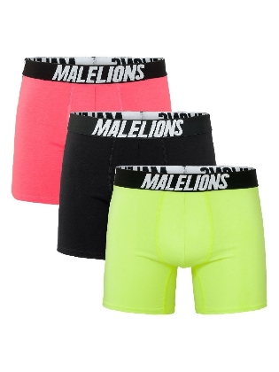 Malelions Boxer 3-pack Tricolore