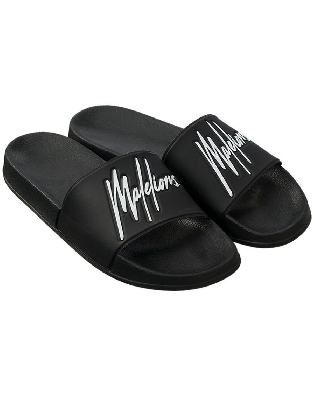 Malelions Junior Slides Black