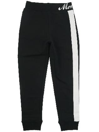 Broek C/bande  Sweater Nero + Bianco