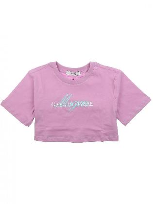 Jersey T-shirt Girl Lilac
