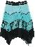 MSGM Crepe Skirt Girl Tiffany