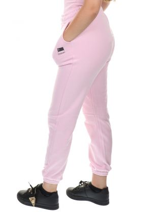 High Waist Sweatpants Pink Lady
