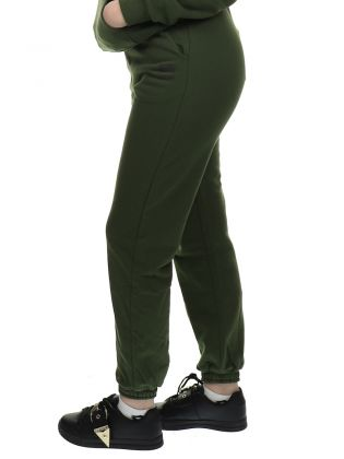 High Waist Sweatpants Rifle Green