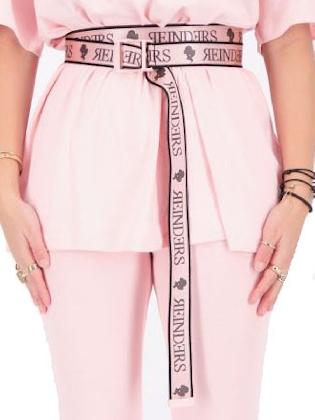 Reinders Buckle Belt Baby Pink